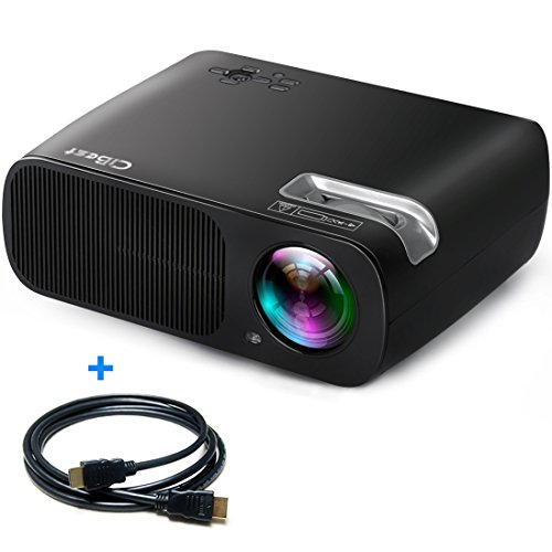 3b60343a525ac9 CiBest Video Projector 2600 Lumens Portable 1080p Max 200