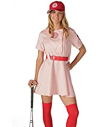 TV Store Women's A League of Their Own Rockford Peaches AAGPBL Baseball Dress
