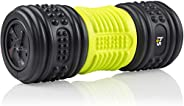 HealthSmart Foam Roller for Exercise and Physical Therapy with Four Speed Vibrations and Deep Tissue Massage,