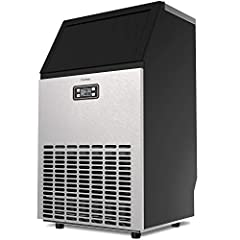 The hOmelabs Commercial Ice Maker will be the coolest appliance you'll ever have.  Keeping it cool, whenever and wherever.  Our commercial ice maker is efficient in producing large amounts of ice in a short amount of time. This rust-resistant...