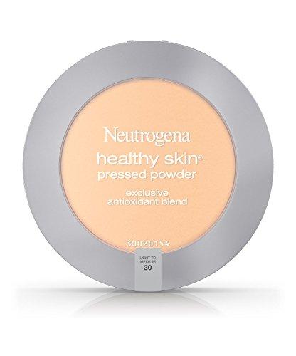 Neutrogena Healthy Skin Pressed Powder, Light to Medium 30 0.34 oz Pack of 3