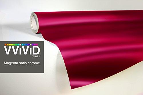 VViViD Magenta Metallic Air Release Adhesive product image