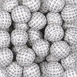 Chocolate Foil Golf Balls