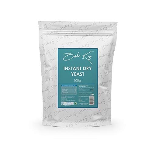 BAKE KING Instant Dry Yeast Powder for Pizza Base & Baking (Yeast)