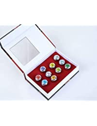 10 Pieces Naruto Shippuden Akatsuki Member's Cosplay Ring Set