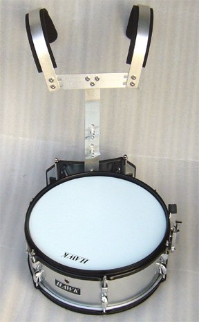 NEW SILVER COLOR MARCHING SNARE DRUM 14''x 5.5'' by HAWK