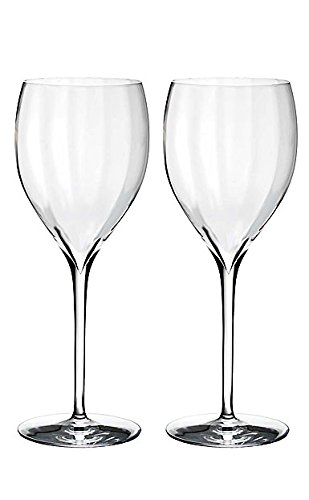 - Waterford Elegance Optic Crisp White Wine Glass, Pair