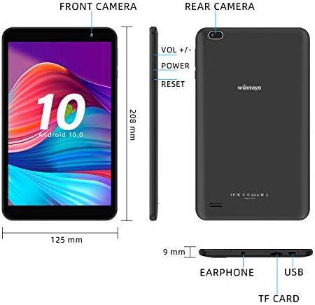 Tablet 8-Inch Android 10.0 – Winnovo M8 Quad Core Processor 32GB Storage HD IPS Display Gravity Sensor Bluetooth WiFi GPS FM (Black) 41xcGnvRoWL
