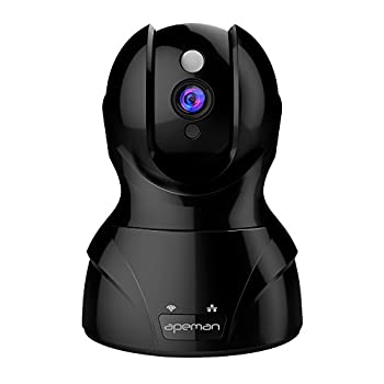 Image of APEMAN IP Camera 1080P HD Wireless Security Camera with Night Vision up to 15m/50ft, 2 Way Audio, Pan/Tilt Home Camera Support Multiple People Viewing Remote Motion Detect Alert Dome Cameras