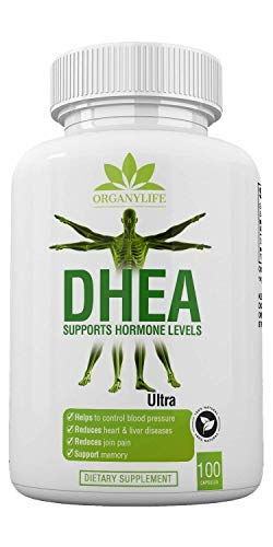 Balance Weight Loss - Pure DHEA Supplement 50mg Capsules by OrganyLife - Youthful Energy Levels for Women & Men - Weight Loss, Support Hormone Levels, Booster Immune, Bone & Muscle Health-Non-GMO 100 Pills