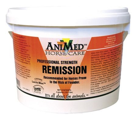 AniMed Remission 4 lb (Best Supplement For Foundered Horse)