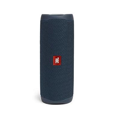 JBL-Flip-5-Altavoz-inalambrico-portatil-con-Bluetooth-speaker-resistente-al-agua-IPX7-JBL-PartyBoost-hasta-12h-de-reproduccion-con-sonido-de-calidad-azul