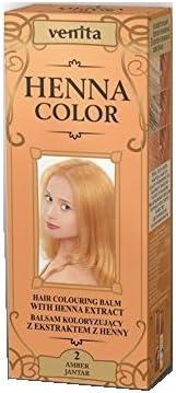 Henna Color 2 Copper bálsamo para el cabello Color Efecto ...