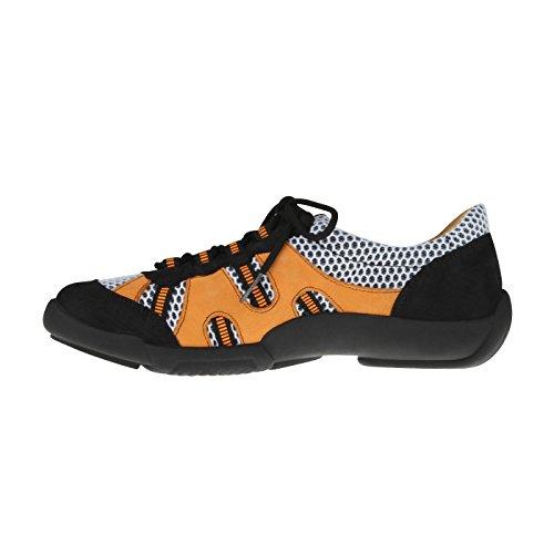 echtem Einlagen Orange aus für Weite Trekking tessamino H Damen Schnürer Leder amp; G F6fqqawxA