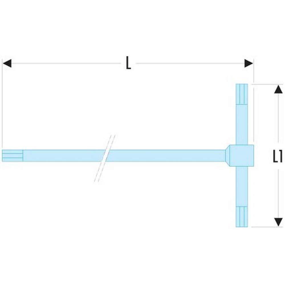 Llave Macho En T 2,5 mm Facom 84TC.2,5