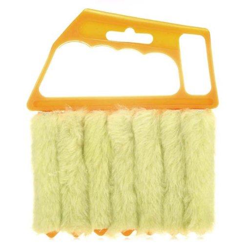 NBellShop Mini 7 Hand Held Vertical Brush Cleaner Blinds Air Conditioner Duster (Bar Blind Vertical)