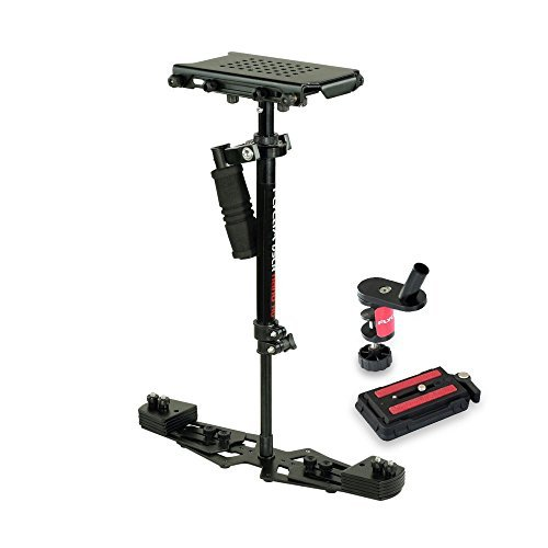 "FLYCAM HD-3000 24""/60cm Micro Balancing Handheld Steadycam Stabilizer for DV HDV DSLR Video Cameras up to 3.5kg/8lbs + FREE Table Clamp & Quick Release Plate (FLCM-HD-3-QT)"