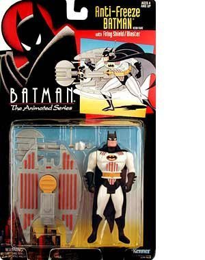 Batman: The Animated Series > Anti-Freeze Batman Action Figure