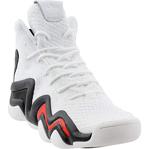 adidas Mens Crazy 8 Adv Primeknit Casual White 14