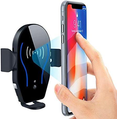 車のワイヤレス充電器 のセンサーワイヤレス車の充電器マウント10WチーチャージホルダーのためiPhoneのXマックスXR X 8プラスギャラクシーS10 S9 S8注意9/8 Huawei