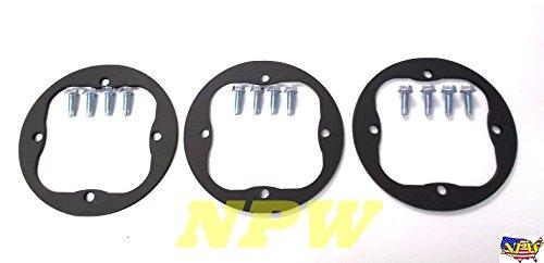 Cub Cadet RZT 50 Deck Spindle Repair Rings W/Bolts RZT50 918-04126A 918-04125B -set of (Cub Cadet Mower Deck)