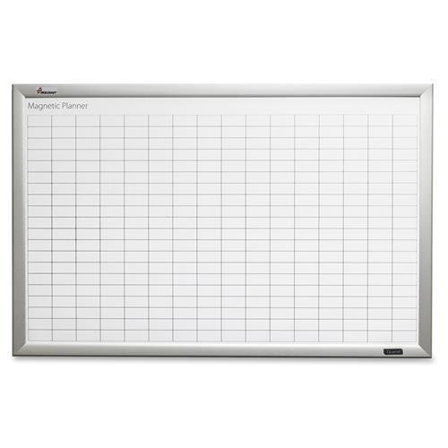 SKILCRAFT Magnetic Work/Plan Kits, 3'X2', Aluminum/White (7110016222127)