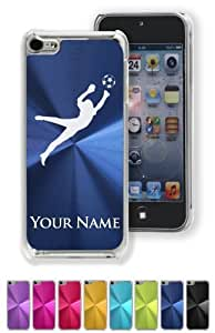 Case/Cover for iPhone 5C - SOCCER GOALKEEPER - Personalized for FREE (Click the CONTACT SELLER link after purchase and send a message with your case color and engraving request) by kobestar