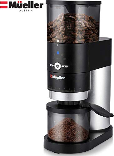 Mueller Ultra-Grind Conical Burr Grinder Professional Series