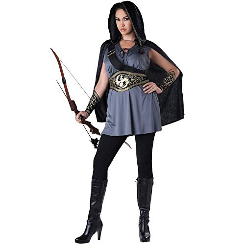 Medieval Collectibles Womens Huntress Plus Size Costume ()