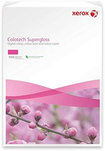 Xerox Colotech+ Super Glossy White A4 Paper \ Card 250gsm Pk100 003R97686