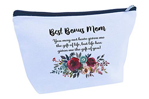Gifts for Mom Stepmom Mother in Law Large Travel Makeup Bag Birthday Christmas Holiday (MB104)