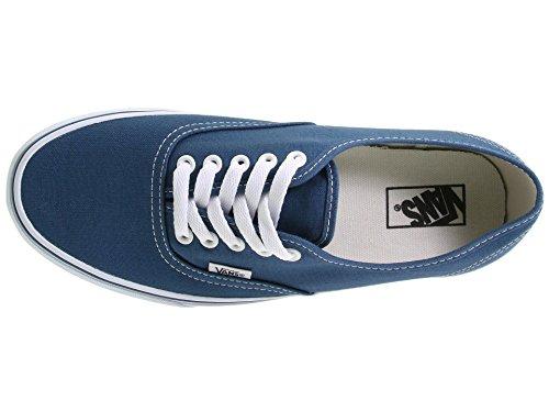 Vans Hombres Zapatos Authentic Azul Marino Moda Skate Sneaker