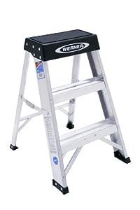 Amazon Com Werner 150b 300 Pound Duty Rating Aluminum