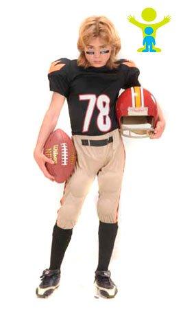 Disfraz de Jugador de Rugby infantil: Amazon.es: Juguetes y juegos
