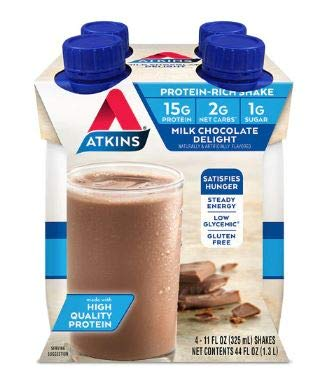Shake, RTD, Milk Chocolate Dlght, 11 oz ( Value Bulk Multi-pack)