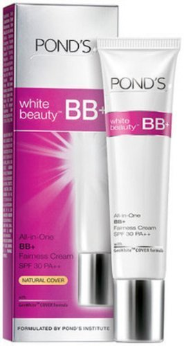 3 X18g Ponds White Beauty All-in-one Bb+fairness Cream Sp...