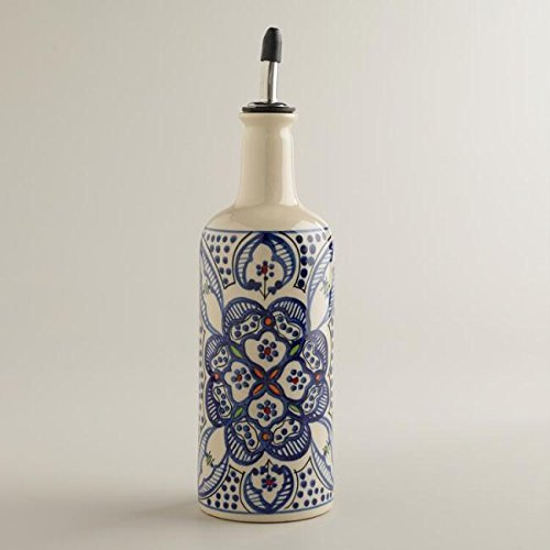 (Ceramic Oil or Vinegar Bottle Dispenser)