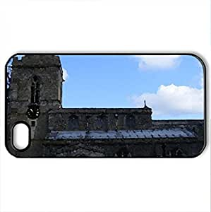 weekly church - Case Cover for iPhone 4 and 4s (Religious Series, Watercolor style, Black)