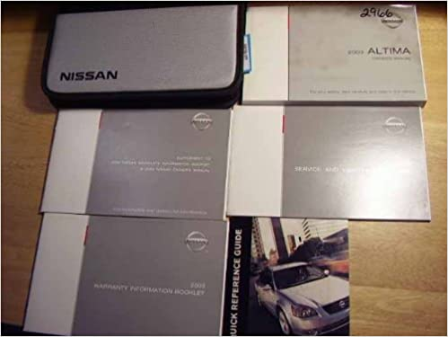 Nissan 2003 altima owners manual nissan motors amazon books fandeluxe