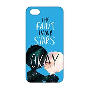 Fortune The Fault in Our Stars Okay? Okay Printed 3D Phone Case for iPhone 5s hjbrhga1544