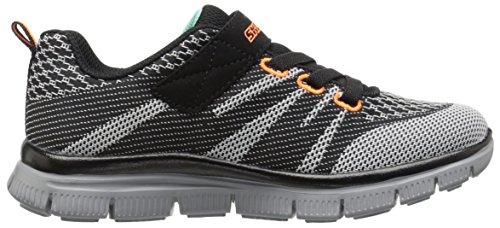 Zapatillas para ni�o, color gris , marca SKECHERS, modelo Zapatillas Para Ni�o SKECHERS 95523L MASTER MIND Gris Black Gray