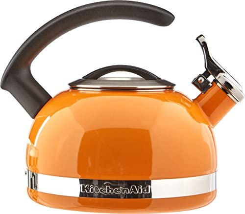 KitchenAid KTEN20CBDO 2.0-Quart Kettle with C Handle and Trim Band – Mandarin Orange