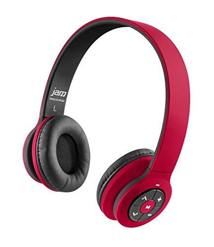 JAM Transit Wireless Headphones HX-HP420RD