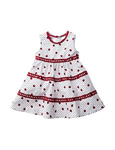 Blueberi Boulevard Ladybug Dress, 18 Months