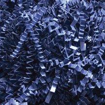 Crinkle Cut Paper – Shredded Paper – Gift Basket Supplies – Basket Fillings– Color: Navy Blue - 1lb (16 oz)