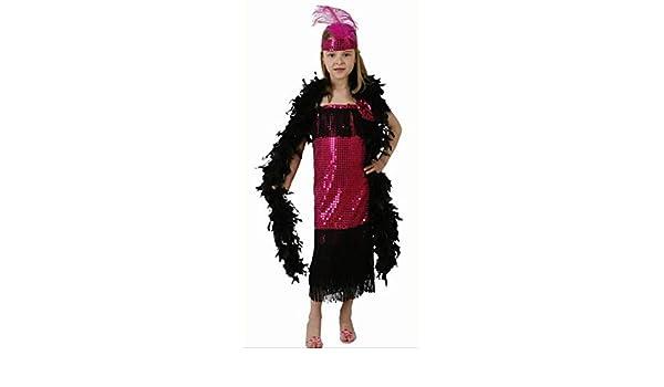 Desconocido Disfraz de charlestón para niña: Amazon.es: Juguetes y ...