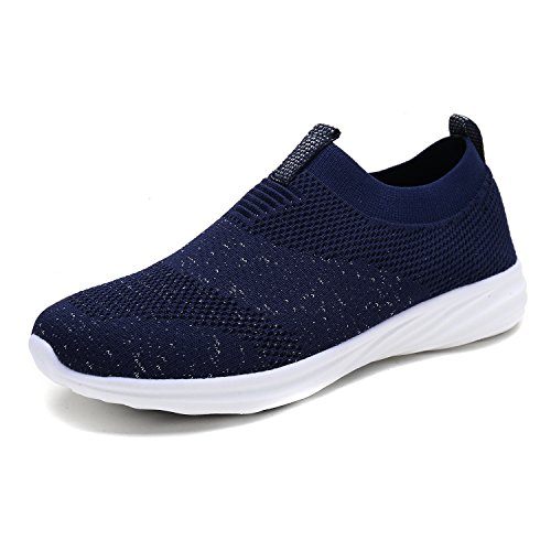 DREAM PAIRS Women's C0195 Navy Fashion Running Shoes Sneakers Size 8 M US
