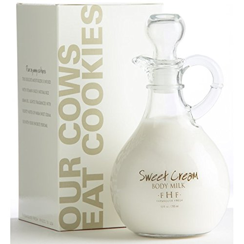 - FarmHouse Fresh Sweet Cream Body Milk, Cruet
