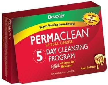 Detoxify Permaclean Herbal Cleanse 5 Day Cleansing Program by Detoxify