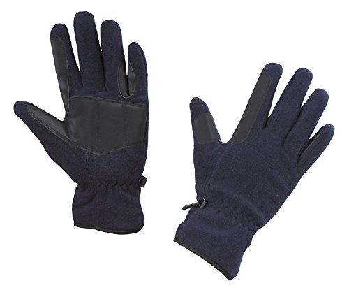 Kerbl Handschuhe Fleece-Reithandschuhe, Marine, XS, 324045